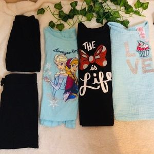 Girls size 5/6 Play clothes bundle of 5
